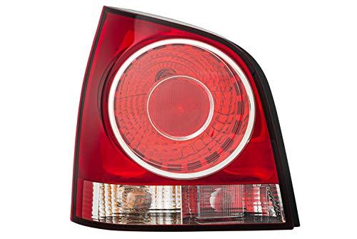 HELLA 2VA 965 303-071 Heckleuchte - Glühlampe - glasklar/rot - links - für u.a. VW Polo (9N_)