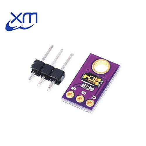 Smart Electronics TEMT6000 Ein Umgebungslichtsensor Simuliert das Lichtintensitätsmodul Sichtbarer Lichtsensor
