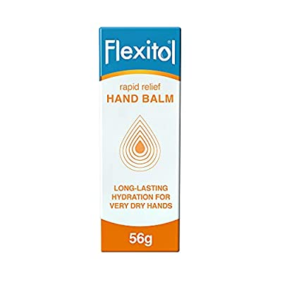 Flexitol Hand Balm for Dry and Itchy Skin 56g Relieves the Symptoms of Mild Dermatitis Eczema and Psoriasis, Shea Butter, 56 gram by Flexitol