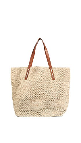 Mar Y Sol Women's Portland Tote, Natural, Tan, Off White, One Size