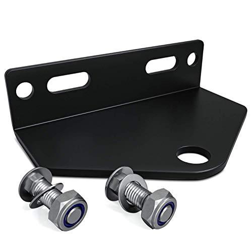 Universal Zero Turn Mower Trailer Hitch 5 Inch Heavy Duty Steel - Including Installation Hardware