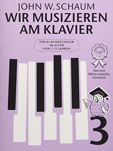 Wir musizieren am Klavier -Band 3- (Neuauflage): Noten, Sammelband für Klavier
