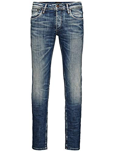 JACK & JONES Herren Slim Fit Jeans Glenn Original JJ 887 3434Blue Denim
