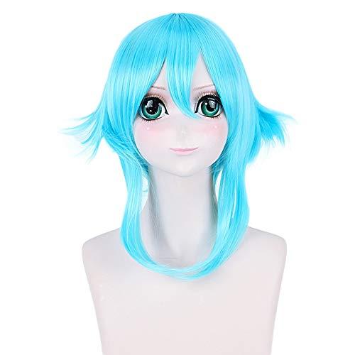Anime Schwert Kunst Online Asada Shino Sinon Frauen Kurze Perücke Cosplay Kostüm SAO Hitzebeständige Synthetische Haare Cosplay Perücken