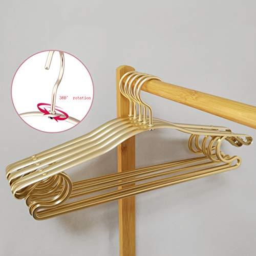 Bestting metalen draad hangers, 0.9 Inch kleding hangers voor jassen pakken, ruimtebesparing en met Non-slip10 Pack Hangers