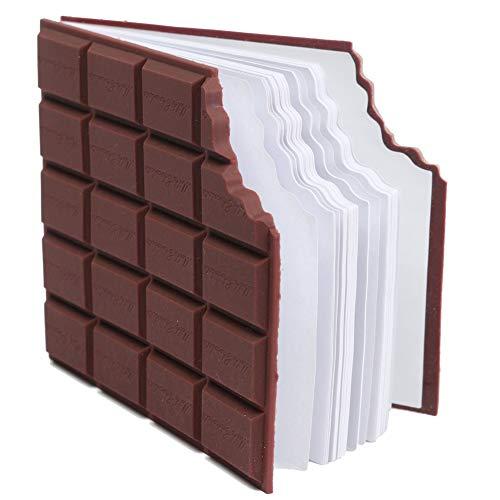 Xiton 1PC Schokolade Duftgeschmack Notepad Kreative Message Pad Taschen Schreiben Buch Schokoladen-Notizblöcke-Schule-Briefpapier-Geschenk für Kinder