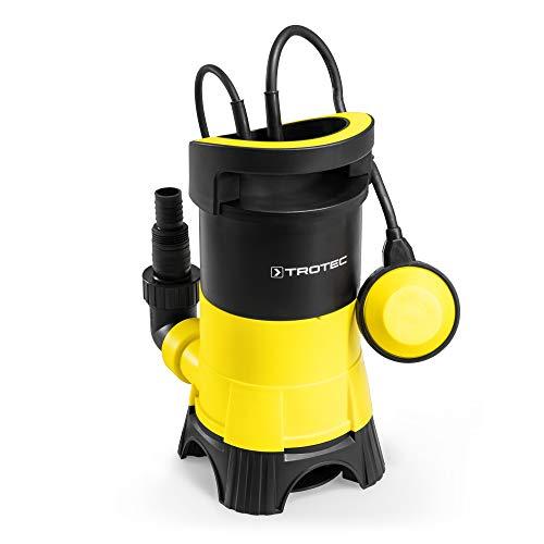 TROTEC TWP 4025 E Schmutzwasser Klarwasser Tauchpumpe (400 Watt, max. 7.500 l/h, max. 5 m Förderhöhe, Fremdkörper bis 25 mm)