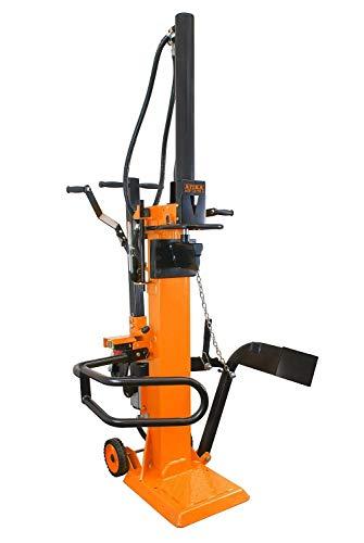 ATIKA 301732 Hydraulikspalter ASP 10 TS-2 Meterholzspalter bis 1040 mm | 10 Tonnen Spaltkraft 10t | Brennholzspalter 400 V | Holzspalter stehend 3300 W