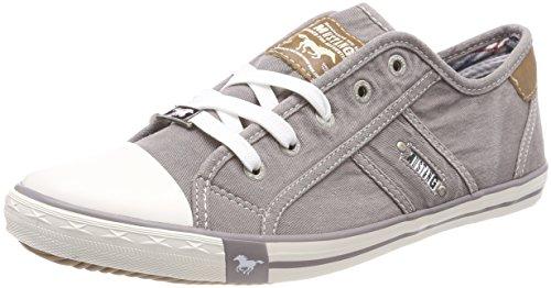 MUSTANG Damen 1099-302-932 Sneaker, Grau (Silbergrau 932), 40 EU