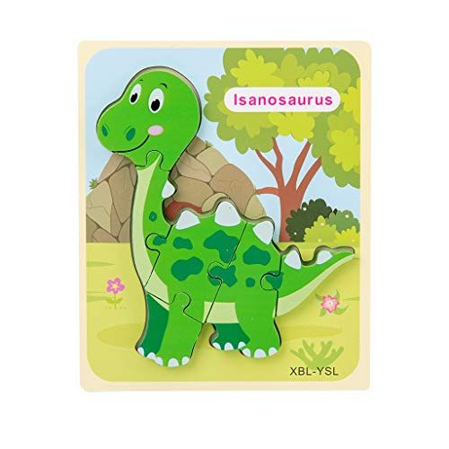 Fasclot Children's Puzzle Desktop Assembled Dinosaur Three-Dimensional Puzzle Toy Toys and Hobbies Puzzle Toy