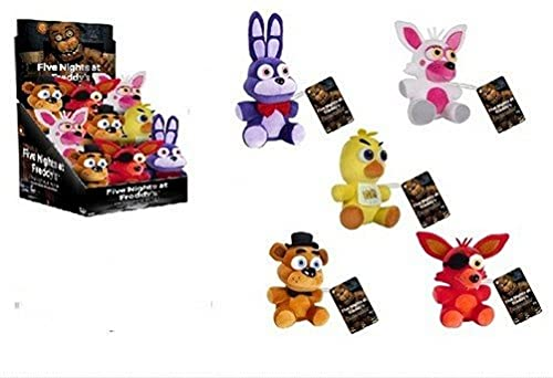 Funko Five Nights at Freddy's Collectible Plush Figure, 6', Assorted Colors and Styles (1 Random Plush)