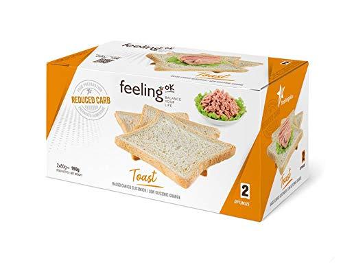 Fooditalia - FeelingOK Optimize - Protein Toast-Zwieback Natur - 160g