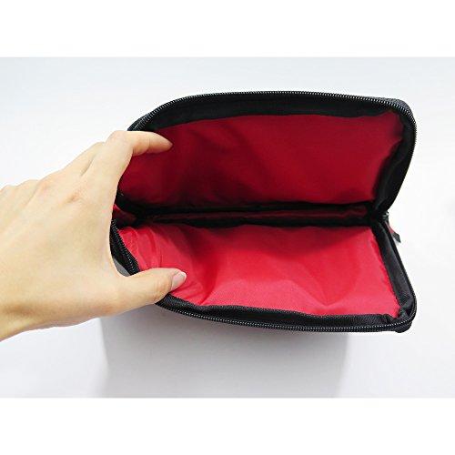 『クツワ Dr.ion バッグインバッグ マルチワークケース 手帳サイズ 231DRBK』のトップ画像