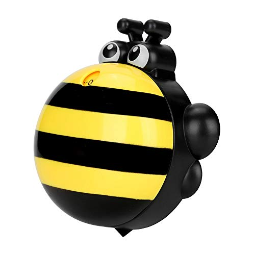 【Cadeau de Noël】Minuterie de cuisine d'aide de cuisine, minuterie de cuisson magnétique d'abeille de dessin animé, 9.2 * 8.8 * 4cm pour la maison(yellow)