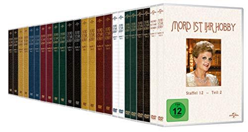 Mord ist ihr Hobby - Staffel 1.1 - 12.2 im Set - Deutsche Originalware [72 DVDs]