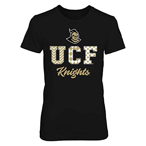 FanPrint UCF Knights T-Shirt - Patterned Letters - If-Ic13-Ds64 - Women