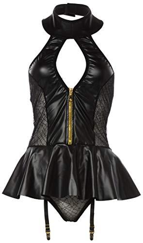 Obsessive 5.90169E+12 Lingerie Set, Black, L-XL Womens (Ropa)