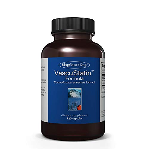 Allergy Research Group - VascuStatin Formula - Convolvulus arvensis Extract, Immune - 120 Capsules