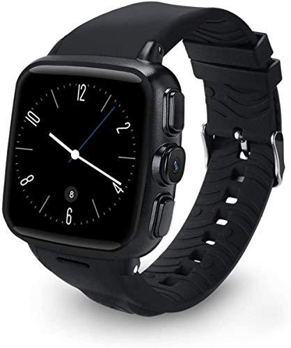 JSL Reloj inteligente Bluetooth Fitness Tracker IP68 impermeable pulsera deportiva con monitor de ritmo cardíaco para mujeres y hombres, negro