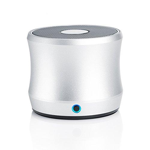 CSL - Bluetooth Lautsprecher Soundbox mit NFC-Funktion - wasserdicht wasserbeständiges Aluminiumgehäuse IPX6 Schutzart - Super Bass System - für Smartphone Tablet PC Mac