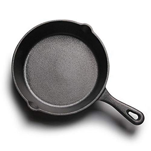 """Cast Iron Skillet - Best Heavy-Duty Professional Restaurant Chef Quality Pre-Seasoned Pan Cookware Set - 10"""", 8"""", 6"""",4""""Pans - Great for Frying, Saute, Cooking, Pizza & More,Black Getrichar"""