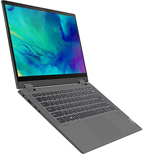 Lenovo IdeaPad Flex 5 14 inches FHD IPS Touchscreen Laptop 2in1 14IIL05 Intel i5-1035G1 (Beats i7) 16GB RAM 512 GB SSD M.2 2280 PCIe NVMe 3 Cell Windows 10 Home Graphite Grey
