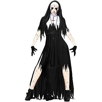 thematys® Espeluznante Disfraz de Monja de Terror para Damas ...