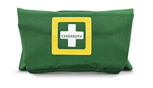 Cederroth ® | First Aid Small | Kit de primeros auxilios portátil, compacto, conveniente y pequeño para tratar heridas | Tamaño pequeño