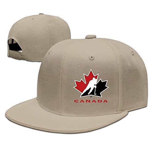 LIU888888 Custom Hockey Canada Adjustable Baseball Hat & Cap Natural,Hüte, Mützen & Caps
