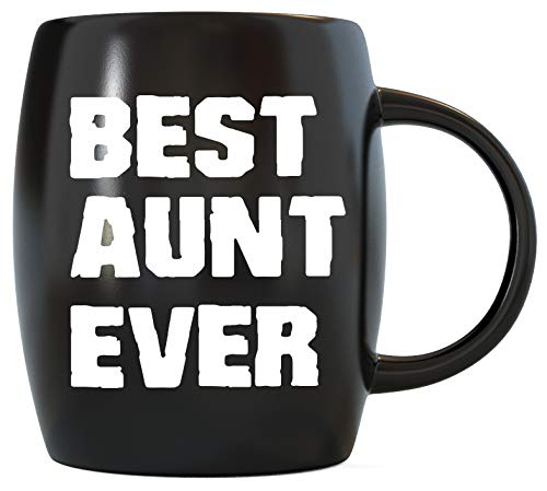 Mug A Day Mothers Day Gift from Niece Nephew World's Best Aunt Ever Aunty Funny Gifts for Birthday Christmas Greatest Auntie Novelty Gag Gift Idea Ceramic Coffee Mug Tea Cup