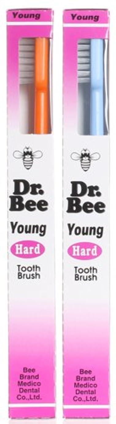 予定一黒板BeeBrand Dr.BEE 歯ブラシヤング かため 2本セット