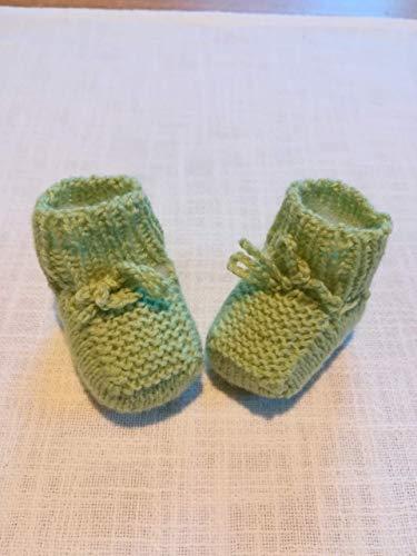 Babyschühchen Erstlingsschuhe Neugeborene gestrickt