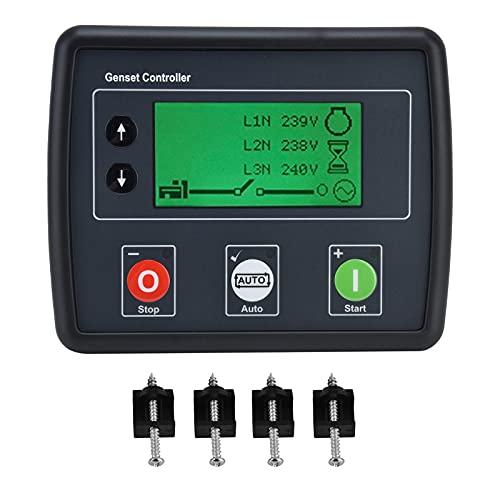 Controlador de grupo electrógeno, módulo de control de detección de grupo electrógeno trifásico de autoarranque, controlador de grupo electrógeno DSE4510