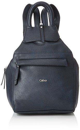 Gabor bags Rucksack Damen Mina, Blau, M, Rucksackhandtasche, Gabor Tasche Damen