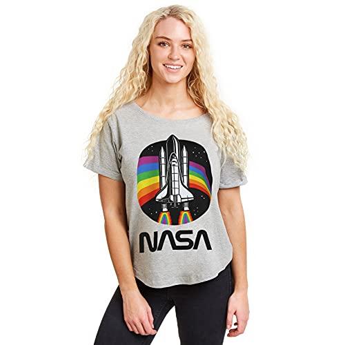 Nasa Rainbow Camiseta, Sports Grey,...