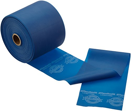 Theraband Latex-Free Resistive Oefening Band 25 yd - Extra Heavy Resistance Dispenser Pack