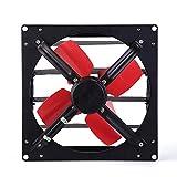 SHYPT Wall Tipo de ventilación del Ventilador, Metal Obturador Extintor de Garaje Shed Polo Barn hidropónico Ventilación