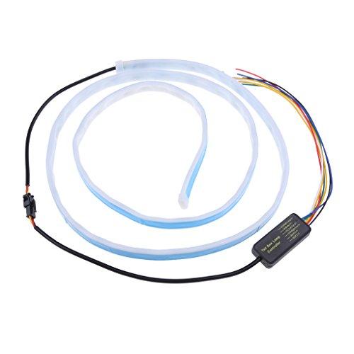 MagiDeal Conduit Voiture Coffre éclairage Néon Bande Voiture Flexible Lampe Décorative 49 '' - #3