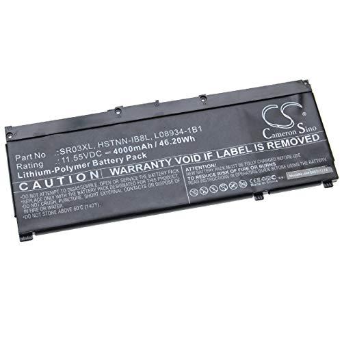 vhbw Akku kompatibel mit HP Envy X360 15-cn0007ng, X360 15-CN0007TX Notebook (4000mAh, 11.55V, Li-Polymer)