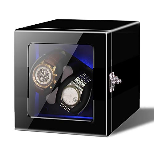 Caja de enrollamiento de Spinner Reloj Windoer - Reloj mecánico automático Shaker...