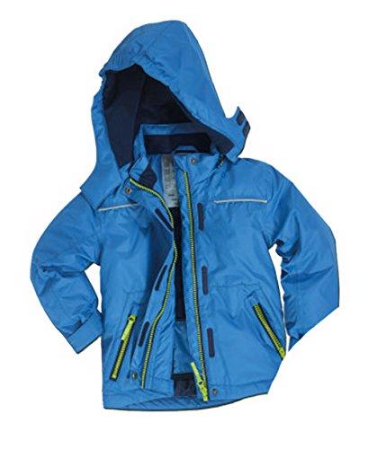 Papagino peuters jongens sneeuwjas in verschillende maten 74/80 86/92 blauw