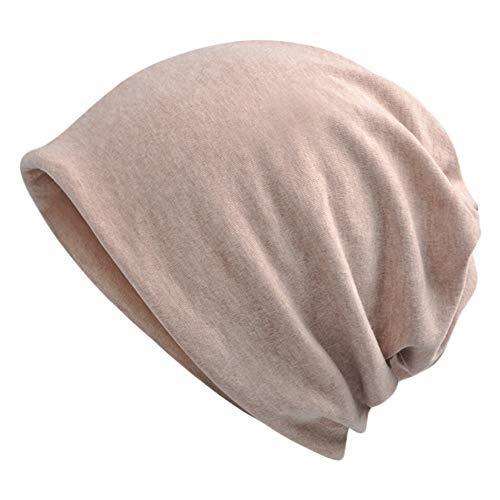 Goddness Bar Bonnet de Sommeil élégant Beanie Hat Scarf Casquette Polyvalente pour Le Plein air, Le Cyclisme, Les Cheveux crépus (A29)