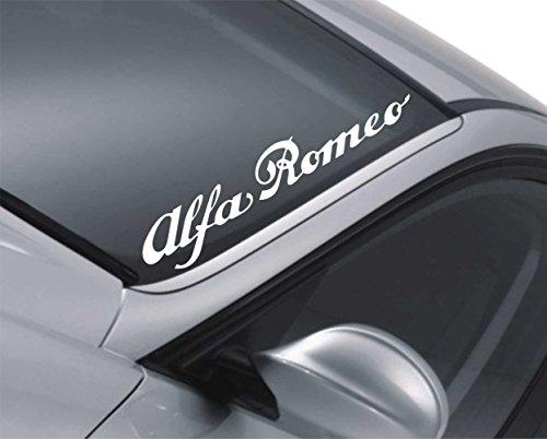 Alfa Romeo Windschutzscheiben-Aufkleber 147156,Heckscheibe/Stoßstange, JDM Drift Aufkleber z57