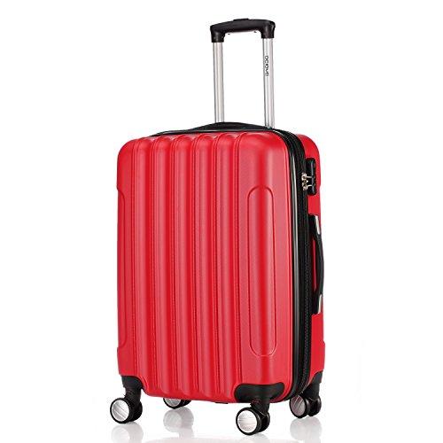BEIBYE doble ruedas carcasa rígida maleta estuche de viaje. 15 Colores y varios tamaños.