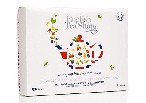 English Tea Shop Organic Luxury Gift Tray (Pack of 48 Tea Bags)