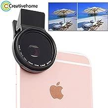 Mobile Phone Lenses - Universal Clip Polarizer 37mm 2.0X CPL Filter Mobile Phone Lens Polariscope for iPhone 7 Plus 5s Samsung S3 Note3 S4 Camera Lens - by SINAM - 1 PCs