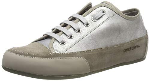 Candice Cooper Rock Bord, Zapatos de Cordones Derby para Mujer, Plateado (Ice 000), 43 EU