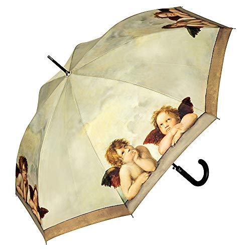 VON LILIENFELD® Paraplu Automatische Vrouwen Mannen Motief Art Raffael Engel
