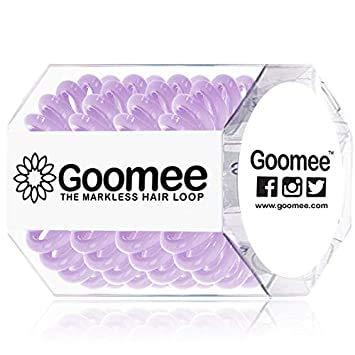 Goomee Original The Markless Hair Loop (Box of 4 Love N' Der) - Markless Hair Ring - No Damage Hair Ties