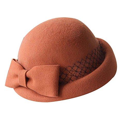Blancho - Golf-Kappen für Mädchen in Orange, Größe 54-58 CM